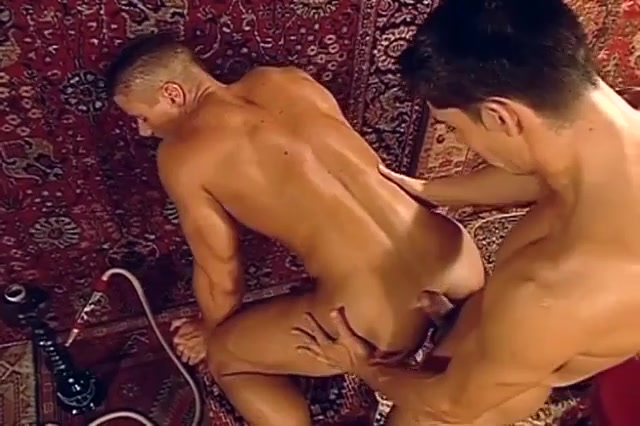 Arab anal in gay scenes with horny couple of men