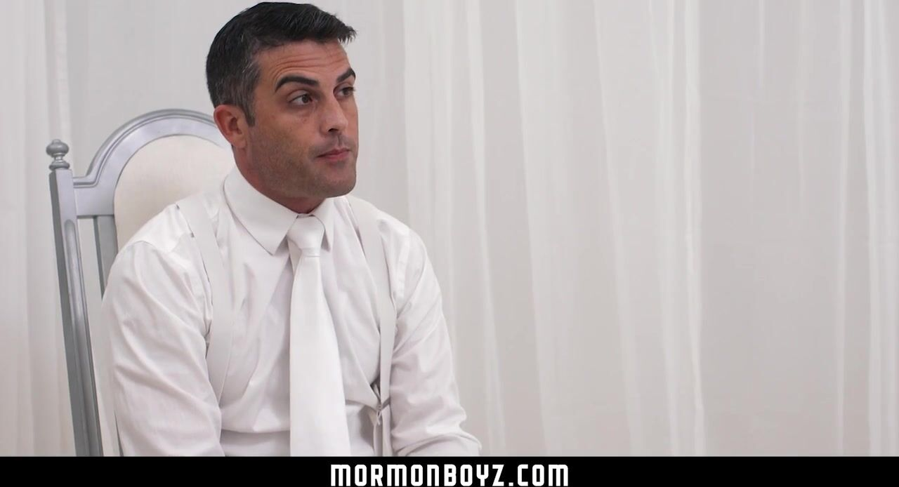 MormonBoyz-Nervous Boy Tied up and Fingered by Dominant Priest SayUncle - Missionary Boys